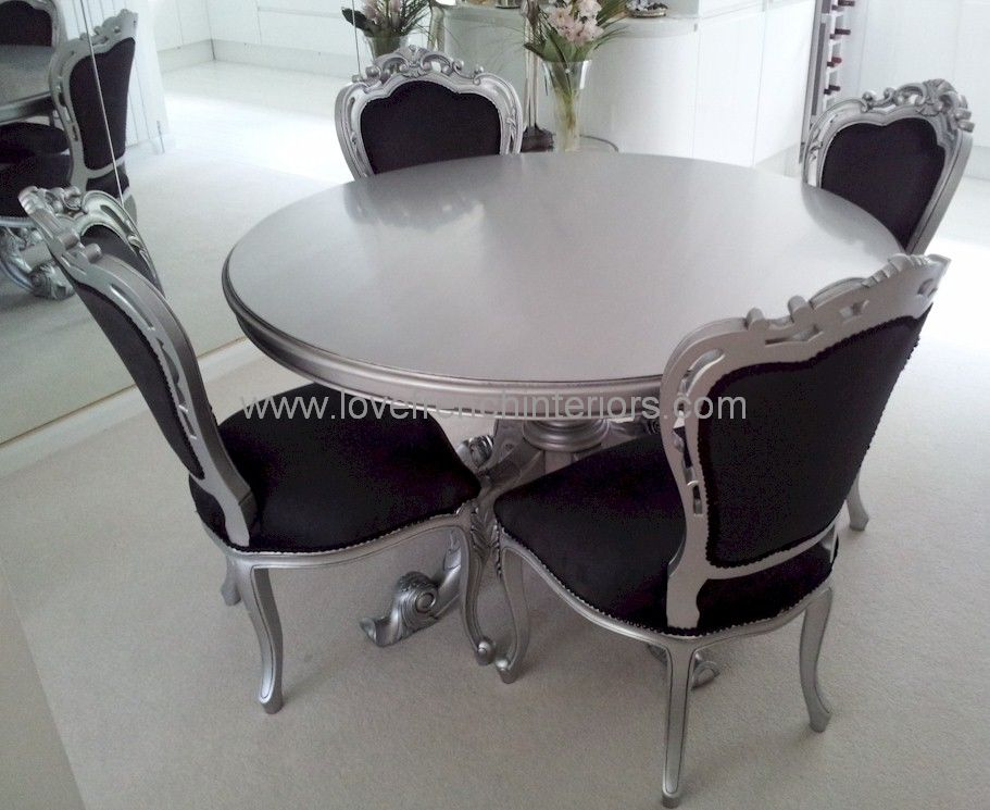 Victorian Round Dining Table 180cm